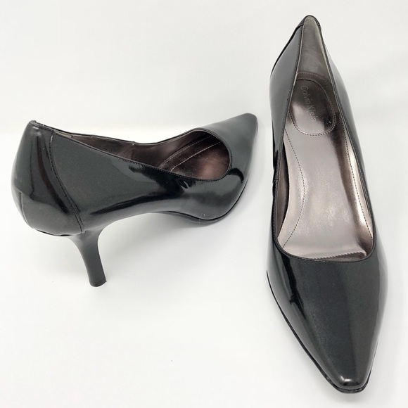7d4aa442cb9 Calvin Klein Shoes - Calvin Klein Classic DOLLY Patent Leather Pump